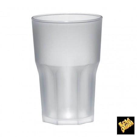 Vaso de Plastico Negro SAN Ø85mm 400ml (75 Uds)