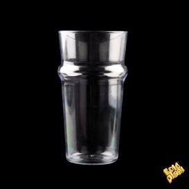 Vaso Plastico para Cerveza Transp. SAN Ø73mm 568ml (6 Uds)