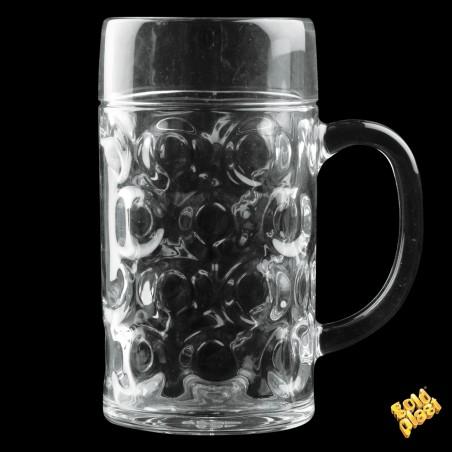 Jarra de Plastico para Cerveza Transp. Ø77mm 500ml (6 Uds)