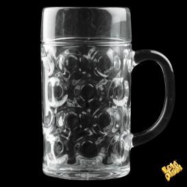 Jarra de Plastico para Cerveza Transp. Ø77mm 500ml (1 Ud)
