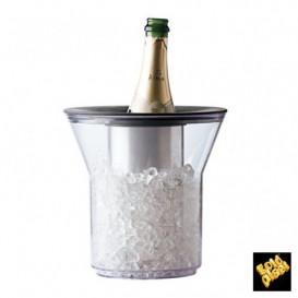 Termo de Plastico para 1 Botella Transp. SAN (1 Ud)