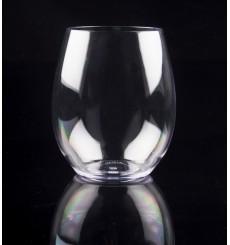 Vaso Reutilizable Tritan Transparente 390ml (1 Ud)