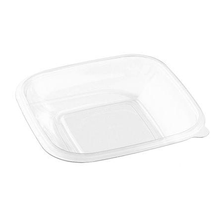 Bol de Plástico Cuadrado Ensaladera PET 500ml (500 Uds)