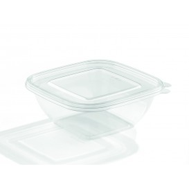 Bol de Plástico Cuadrado 190x50mm PET 1000ml (300 Uds)