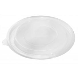 Tapa Plana de Plástico para Ensaladera PET Ø180mm (60 Uds)