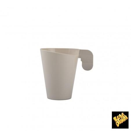 Taza de Plastico Design Crema 72ml (240 Uds)