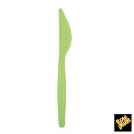 Cuchillo de Plastico Easy PS Verde Lima 185mm (20 Uds)
