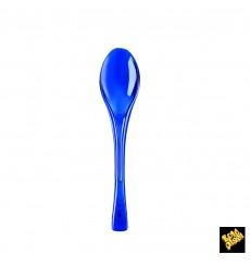 Cuchara de Plastico Fly Azul Transp. 145mm (3000 Uds)