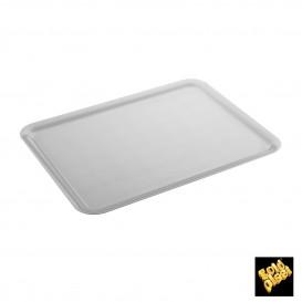 Bandeja Plastico Tray Blanco 37x50cm (4 Uds)