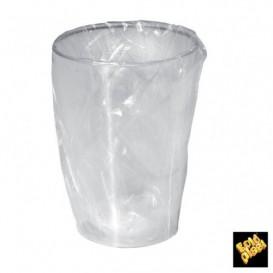 Vaso de Plastico Moon Enfundado Transp. PS 200ml (500 Uds)