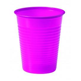 Vaso de Plastico PS Fucsia 200ml Ø7cm (50 Uds)