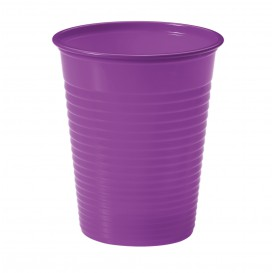 Vaso de Plastico PS Violeta 200ml Ø7cm (1500 Uds)