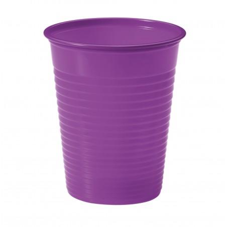 Vaso de Plastico Violeta PS 200ml (1500 Uds)