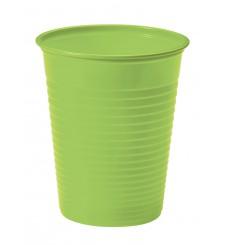 Vaso de Plastico Verde PS 200ml (1500 Uds)
