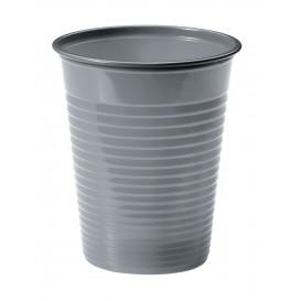 Vaso de Plastico PS Plata 200ml Ø7cm (1500 Uds)