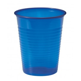 Vaso de Plastico Azul Oscuro PS 200ml (1500 Uds)