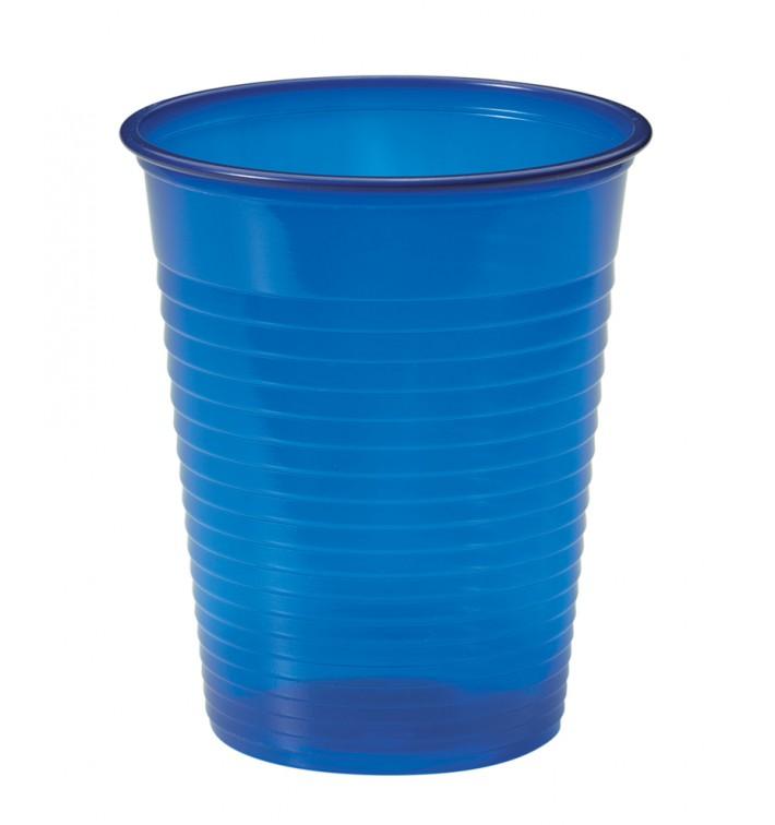 Vaso de Plastico PS Azul Oscuro 200ml Ø7cm (1500 Uds)