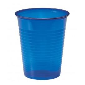 Vaso de Plastico PS Azul Oscuro 200ml Ø7cm (50 Uds)