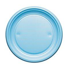 Plato de Plastico Llano Azul Oscuro PS 170mm (50 Uds)