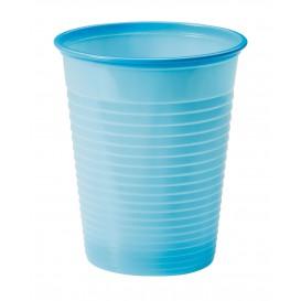 Vaso de Plastico PS Azul Claro 200ml Ø7cm (1500 Uds)
