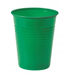 Vaso de Plastico Verde PS 200ml (1500 Uds)