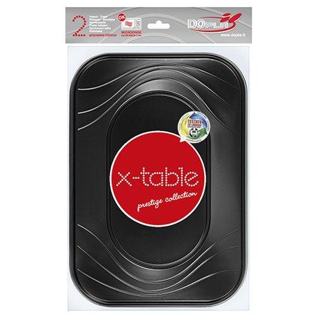 Bandeja de Plastico 3C Negro PP 330x230mm (30 Uds)