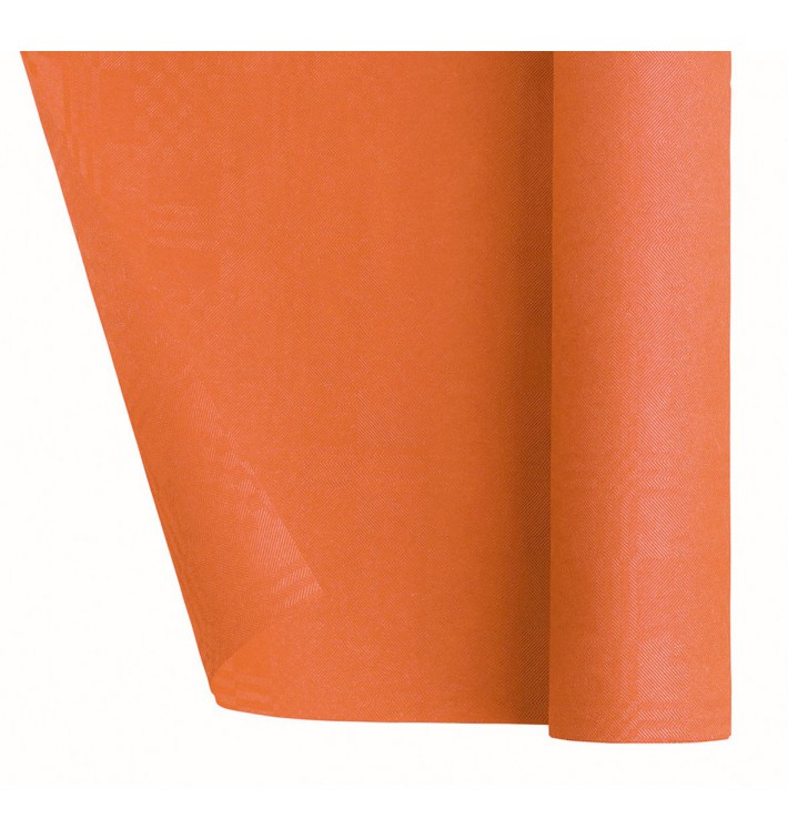 Mantel de Papel Rollo Naranja 1,2x7m (25 Uds)