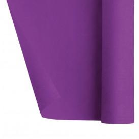 Mantel de Papel Rollo Violeta 1,2x7m (25 Uds)