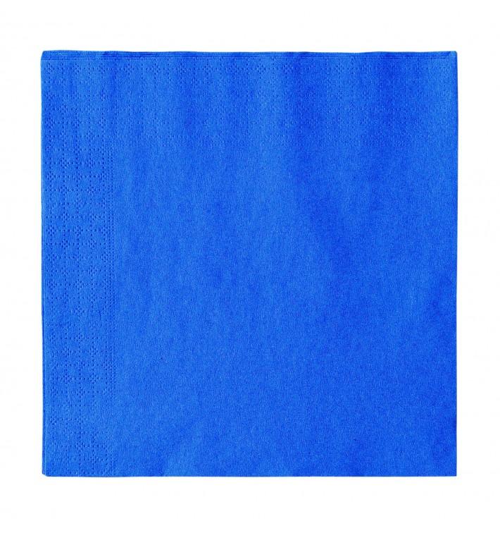 Servilleta de Papel 2 Capas Azul Oscuro 33x33cm (1200 Uds)