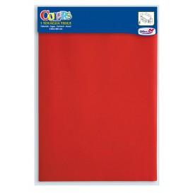 Mantel de papel 1,2x1,8m Rojo (24 Uds)