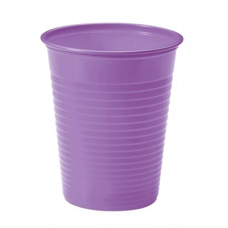 Vaso de Plastico Lila PS 200ml (50 Uds)