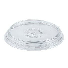 Tapa PS Transparente Vaso 350, 400 y 500ml Ø8,3cm (100 Uds)
