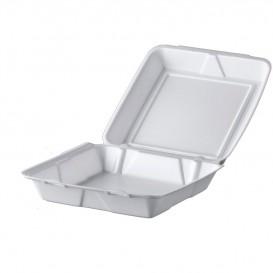 Envase Foam MenuBox Blanco 240x235mm (200 Uds)