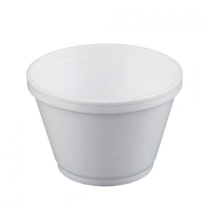 Tarrina Termico Foam Blanco 6OZ/180ml Ø89mm (1000 Uds)