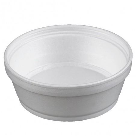 Tarrina Termico Foam Blanco 8Oz/240ml Ø11,7cm (25 Uds)