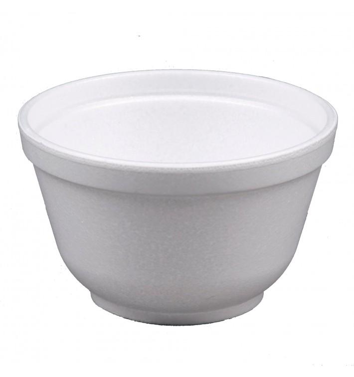 Bol Termico Foam EPS Blanco 6OZ/177ml Ø89mm (50 Uds)