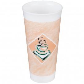 "Vaso Termico Foam EPS ""Café"" 24Oz/710 ml (500 Unidades)"