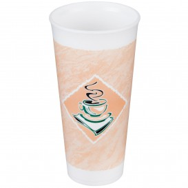 "Vaso Termico Foam EPS ""Café"" 24Oz/710 ml (20 Unidades)"