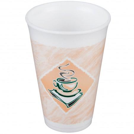 "Vaso Termico Foam EPS ""Café"" 12Oz/355 ml (500 Unidades)"