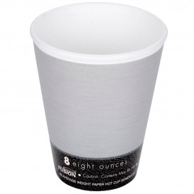 "Vaso Termico Fusion ""Steele"" 8Oz/266ml Ø8,1cm (25 Uds)"