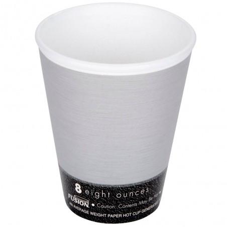 "Vaso Termico Fusion ""Steele"" 8Oz/266ml Ø8,1cm (1000 Uds)"