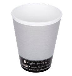 "Vaso Termico Foam ""Fusion"" Gris 8Oz/266ml Ø81mm (1000 Unidades)"