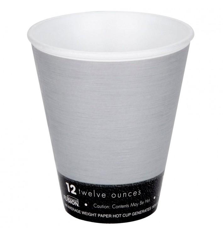 "Vaso Termico Foam ""Fusion"" Gris 12Oz/355ml Ø94mm (1000 Unidades)"