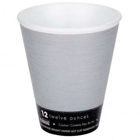 "Vaso Termico Fusion ""Steele"" 12Oz/355ml Ø9,4cm (20 Uds)"