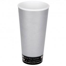"Vaso Termico Foam ""Fusion"" Gris 24Oz/710ml (500 Unidades)"
