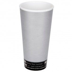 "Vaso Termico Foam ""Fusion"" Gris 24Oz/710ml Ø94mm (20 Unidades)"