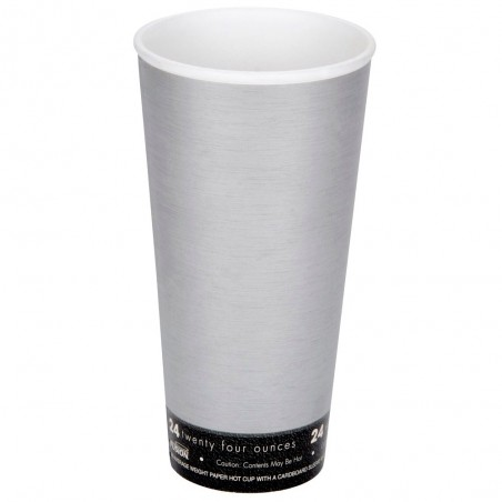 "Vaso Termico Fusion ""Steele"" 24Oz/710ml Ø9,4cm (20 Uds)"