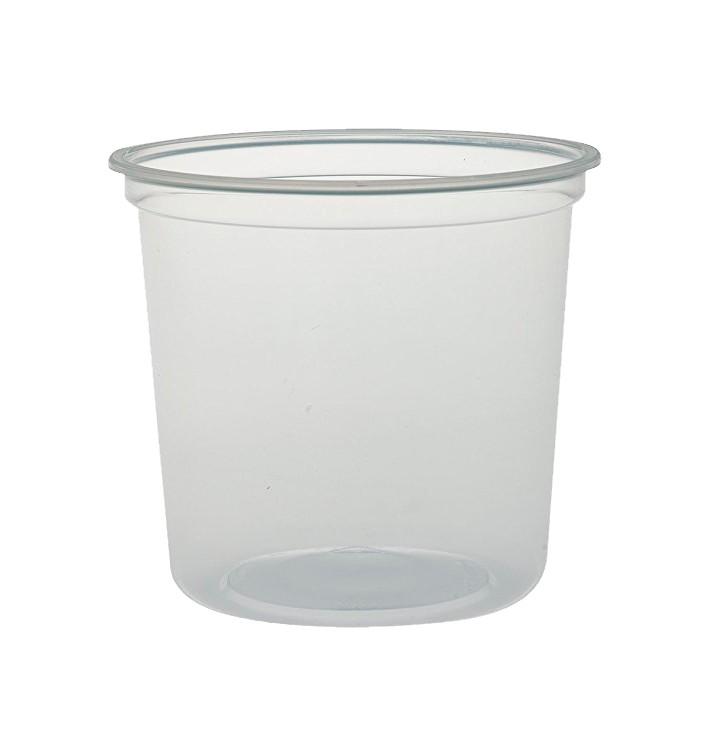 """Envase Termico PP """"Deli"""" Translucido 16Oz/473ml (25 Unidades)"""