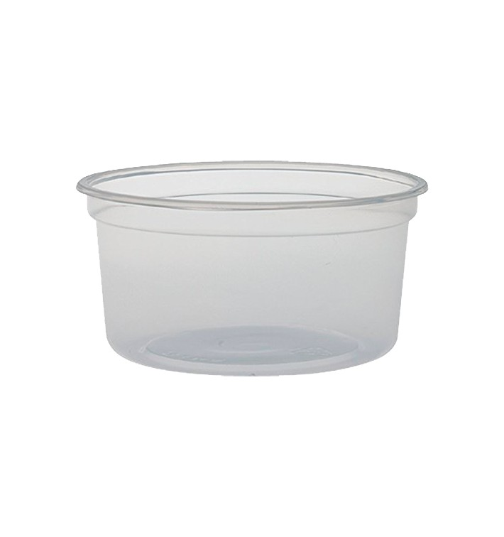 """Envase Plastico PP """"Deli"""" 12Oz/355ml Ø120mm (500 Uds)"""