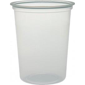 """Envase de Plastico PP """"Deli"""" Translucido 32Oz/960ml Ø127mm (25 Unidades)"""